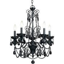 Black Chandelier Lamps Plug In Black Chandelier U2013 Eimat Co