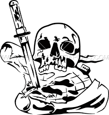 pirate production ready artwork shirt printing