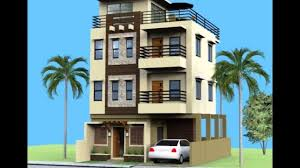 apartments three story home designs story townhouse floor plan