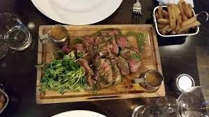 chateaubriand cuisine chateaubriand fries and peppercorn sauce picture of circa 1924