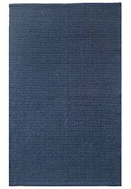 Solid Grey Rug Solid Navy Blue Flatweave Eco Cotton Rug Hook U0026 Loom