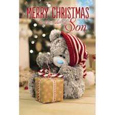 son 3d christmas card me to you tatty teddy bear christmas