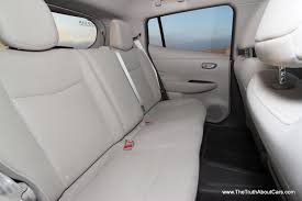 nissan altima interior backseat review a week in a 2012 nissan leaf the truth about cars