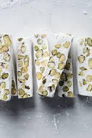 pistachio nougat cannelle et vanille