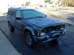 jeep cherokee back brendan127 u0027s wrecked u002798 jeep cherokee is back jeep cherokee forum