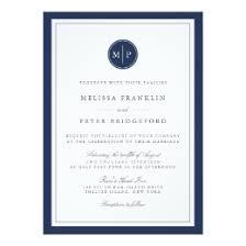 monogram wedding invitations monogram wedding invitations zazzle
