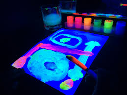 glow in the dark poster diy black light booth provocation sturdy for common things