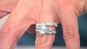 wedding ring reviews rings diamonique reviews cubic zirconia bridal set diamonique