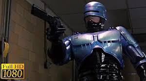 robocop electrocutes himself youtube best part of robocop 2 gun store robbery aka videos
