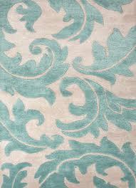 jaipur rugs blue aloha bl82 antique white light turquoise area