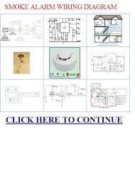 smoke alarm wiring diagram siren alarm sound qs