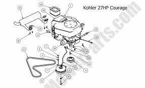 kohler 14 hp wiring diagram points and condenser diagram kohler