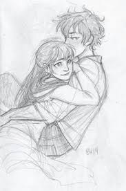 cute couple drawings cute couple drawings for me and him u003c3