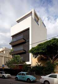amazing white wall modern balconies and wide glass windows house