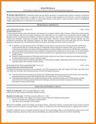 Architect Resume Sample by 7 Architect Resume Sample Appeal Leter
