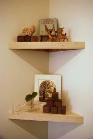 Wood Corner Shelf Design by 88 Best Tv Corner Shelves Images On Pinterest Bookcases Home