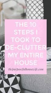 the 10 steps i took to de clutter my entire house u2014 allie casazza