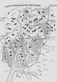 The Hobbit Map Man Turns Scotland U0027s Parks Into Tolkein Style Hobbit Maps