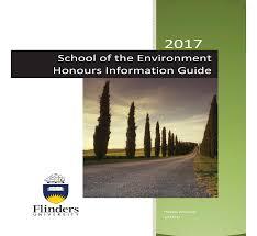 honours flinders university