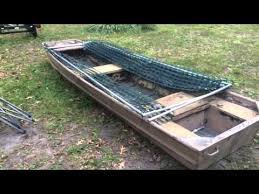 Best Duck Blind Material How To Build The Diy Rock Solid Duck Boat Blind Kit Set Up On A