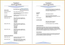 Lebenslauf Vorlage Excel 8 Bewerbung Lebenslauf Vorlage Reimbursement Format