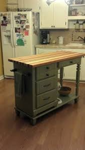 repurposed kitchen island ideas best 25 mobile kitchen island ideas on kitchen island
