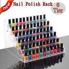 nail polish racks ebay