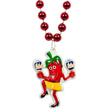 dancing chili pepper necklace mardigrasoutlet com