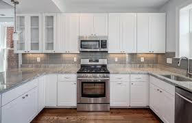 kitchen popular white cabinets kitchen backsplash tile my home
