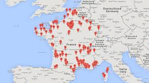 Google Map Germany by Carte De France Google Map My Blog