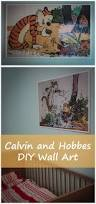 diy wall art see mommy doing calvin and hobbes wall art