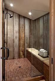 Rustic Industrial Bathroom by Corrugated Metal And Wood Rustic Look Vintage Industrial