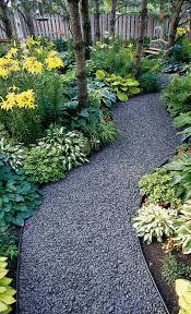 attractive gravel garden path u2022 photo via erin on the impatient