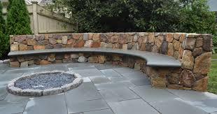 stone for patio interior home design