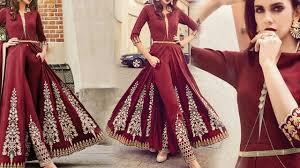 design dress designer dresses designs indo western style wedding party