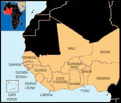 Africa Country Map West Africa Wikiwand