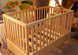 Plans For Baby Crib by Build A Crib With Your Own Two Hands