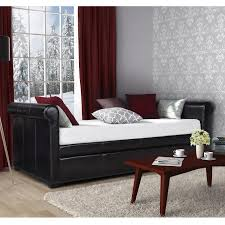 twin daybed trundle bed beds accessories compare prices at dhp giada upholstered trundle daybed daybed and trundle