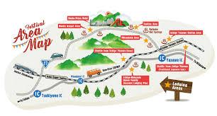 Festival Map Fuji Rock Festival U002717 Visitor Guide