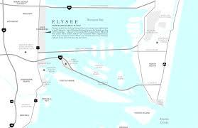 Miami Neighborhoods Map by Elysee Miami Luxury Real Estate Edgewater