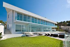 Villa Exterior Design Architecture Modern Country Home For Retired Life Warm Exterior