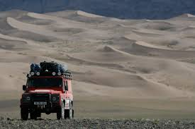 land rover desert far from everywhere land rovering through mongolia travel