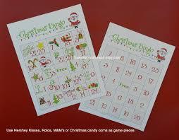 christmas bingo a fun game for your christmas party kids and