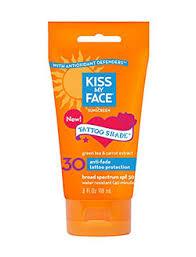 best sunblock u0026 sunscreen for old u0026 new tattoos