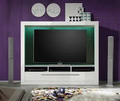 Wohnzimmerschrank Ohne Tv Trendteam Mx89501 Wohnwand Tv Möbel Weiss Hochglanz Bxhxt