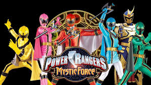 power rangers shows