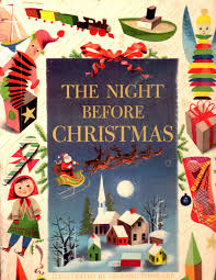 Twas The Night Before Halloween Poem Leonard Weisgard The Night Before Christmas Decemberween