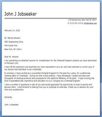 cover letter chemical engineering internship 28 images 10 sle