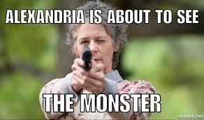 Carol Walking Dead Meme - the walking dead season 6 episode 7 heads up recap discussion