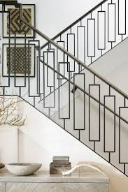 image result for flat modern railings on walnut stairs railings